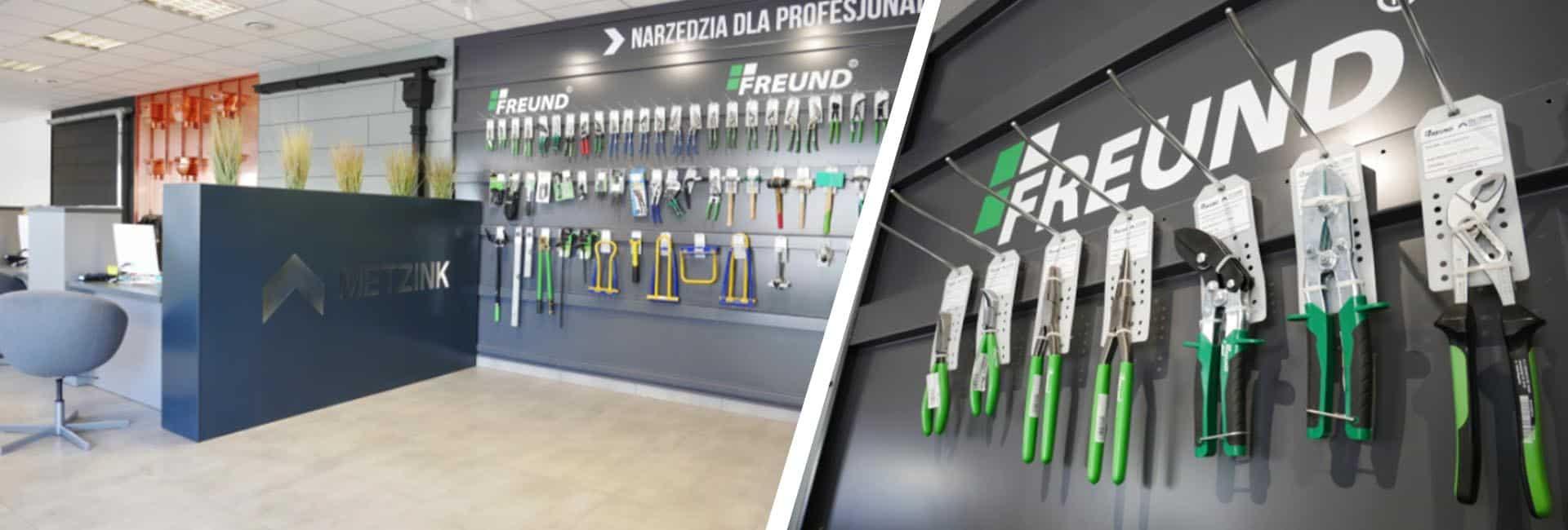 Profesjonalne narzędzia dekarskie - MetZink
