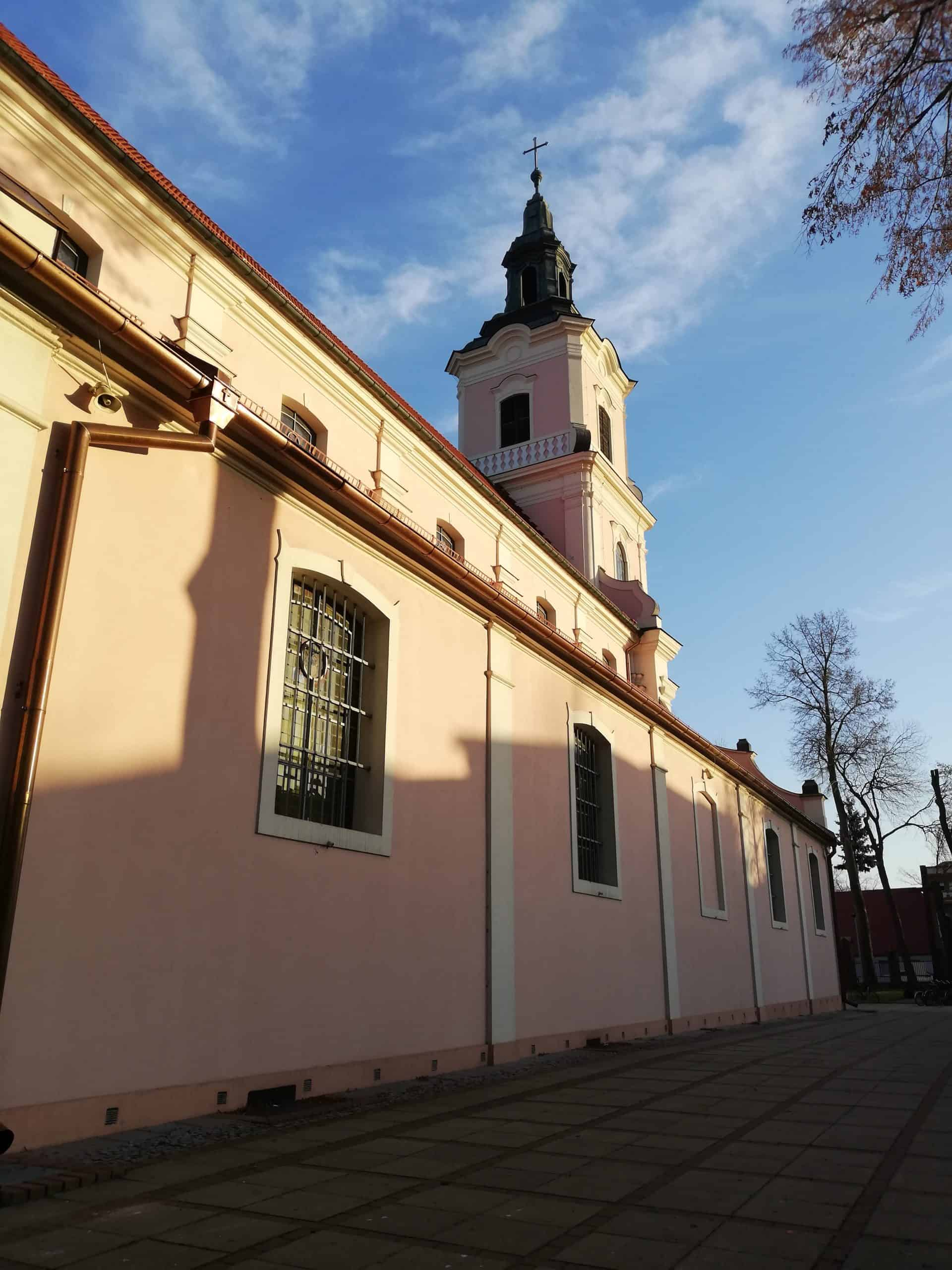 remont dachu kościoła