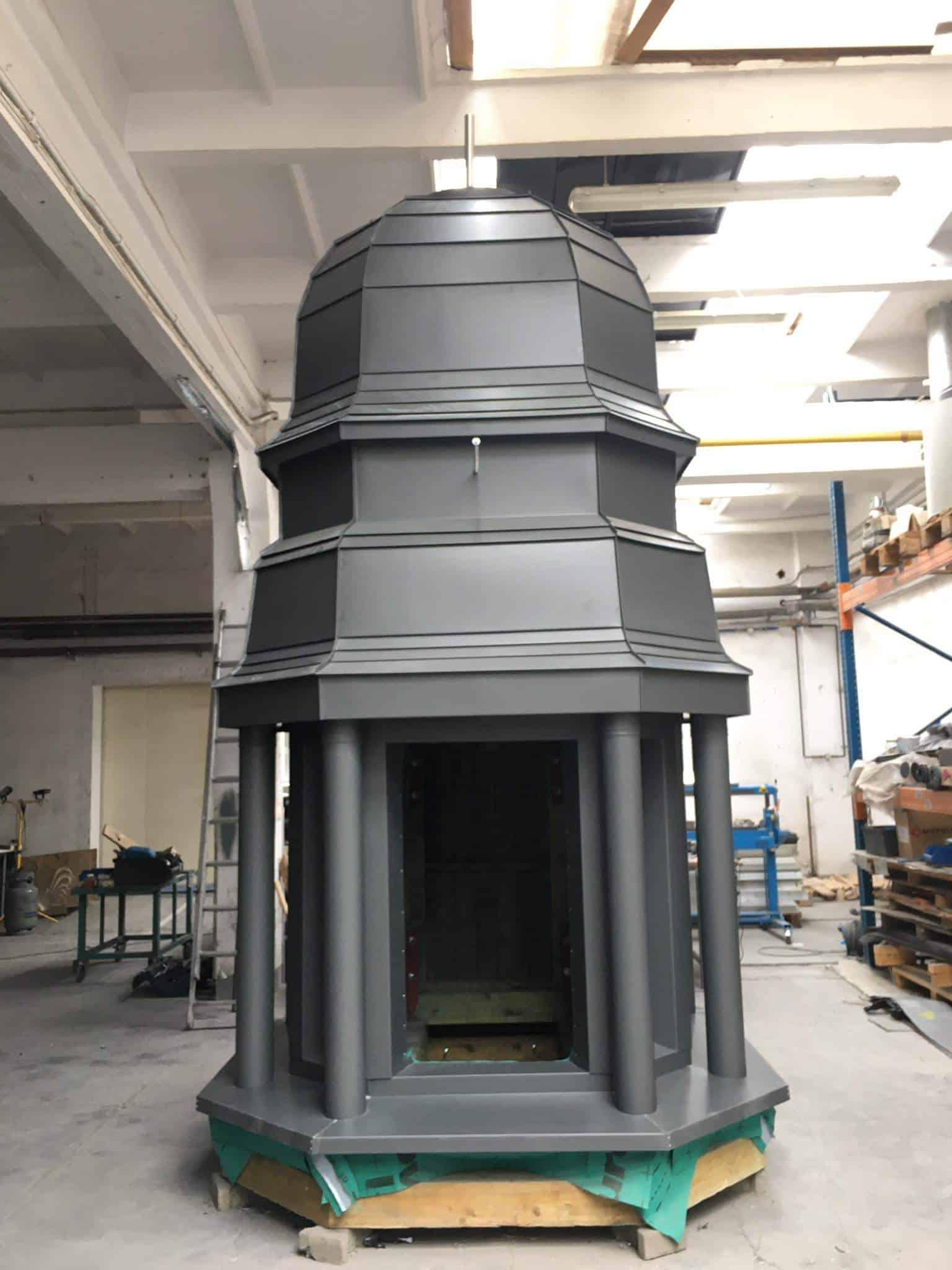 odnowienie kopuły dzwonnicy