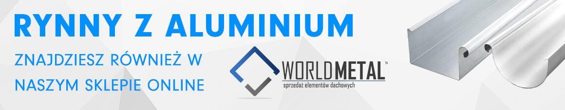 Rynny z aluminium - sklep internetowy